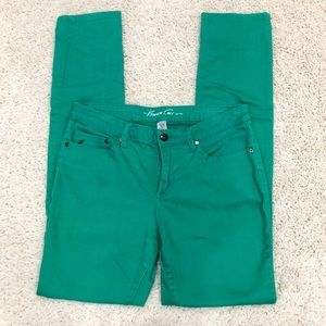 Kenneth Cole Green Straight Leg Jeans 30
